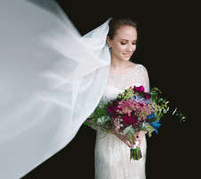 Fashion Wedding Bridal portrait