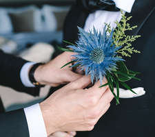 Wedding Barolo-boutonniere