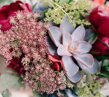 Wedding flowers detail