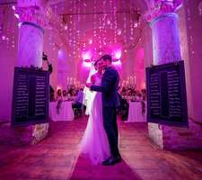 Romantic First Dance of the newlyweds