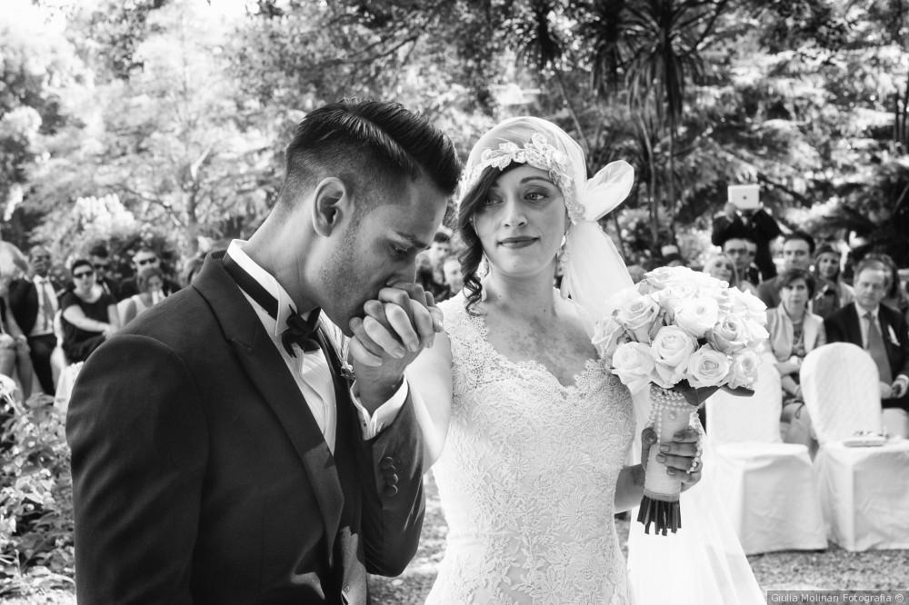Real Wedding Italian Riviera Roaring 20s Themed